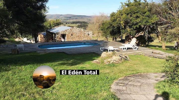 Piscina privada El Edén Total 19