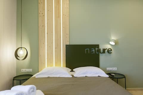 Nature apt, comfy accommodation for 3 in Spili!