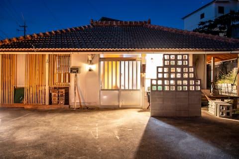 1日1組限定<Camp  House  by port Side> 港発!島旅・山原旅の起点