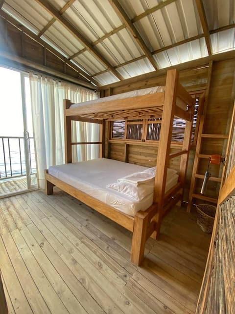Habitación privada #4 Santa Cruz del Islote Hostel