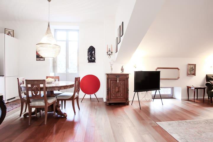 Al Ciani Balcony Suite - Lugano center