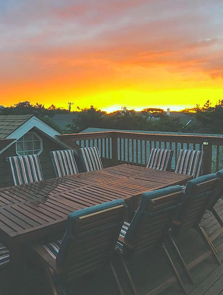 Fire Island Roof Top Deck House
