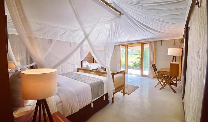 Bali Beach Glamping (Family Tent)
