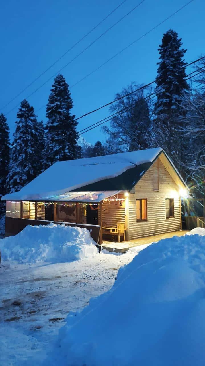 Золотой Орел: Дом в Архызе на 10 человек
