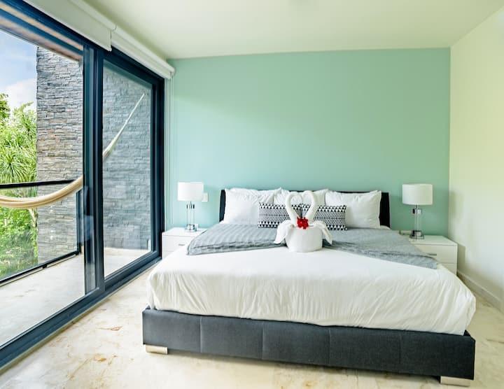 Nový byt s přístupem na pláž / golfové hřiště