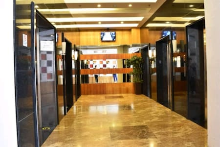 Elevator is available on every floor