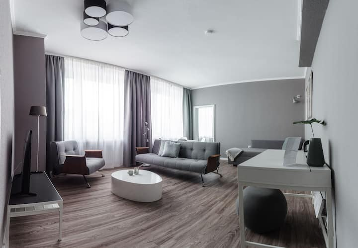 Stylisches Münster City-Apartment 56 m²
