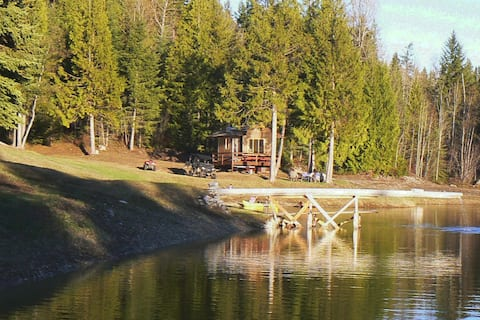 Azure Spring Off Grid Mountain Cabin