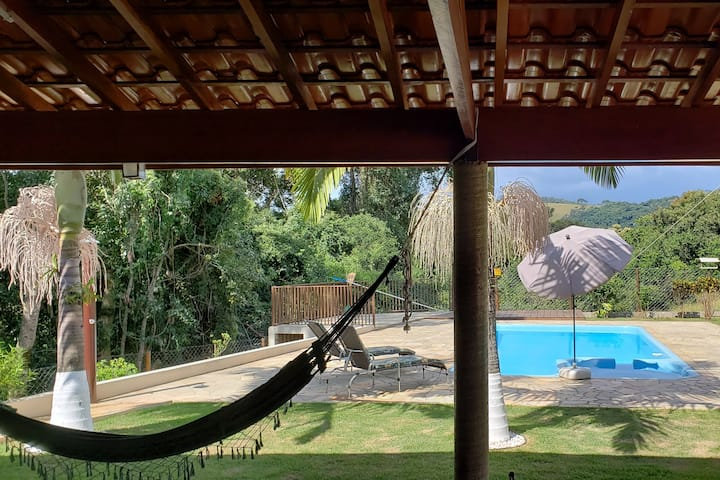 Rancho do Sagui, nature with warmth and comfort