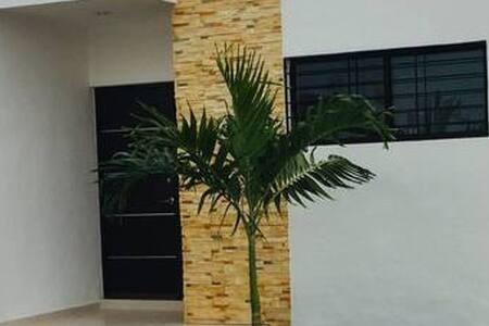 Amplia puerta de acceso principal