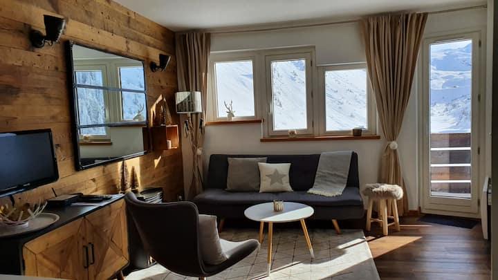 Appartement 2 chambres sur les pistes à Avoriaz