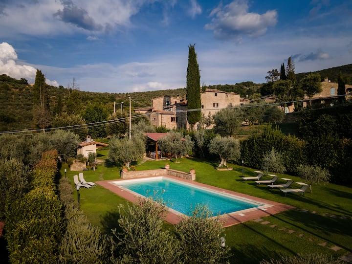Casa privata con splendida piscina e giardino