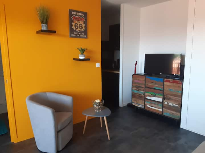 Appartement aperçu mer à Pontaillac, Royan
