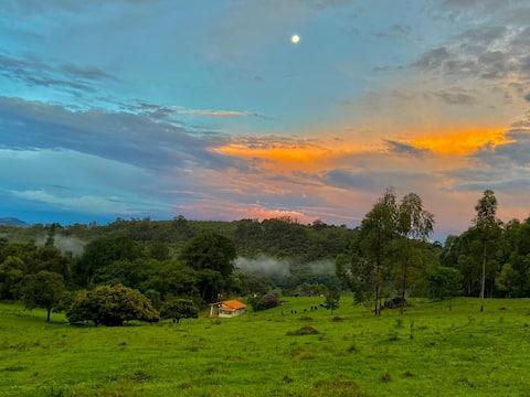 Sitio Monte Cristo: isolation in nature