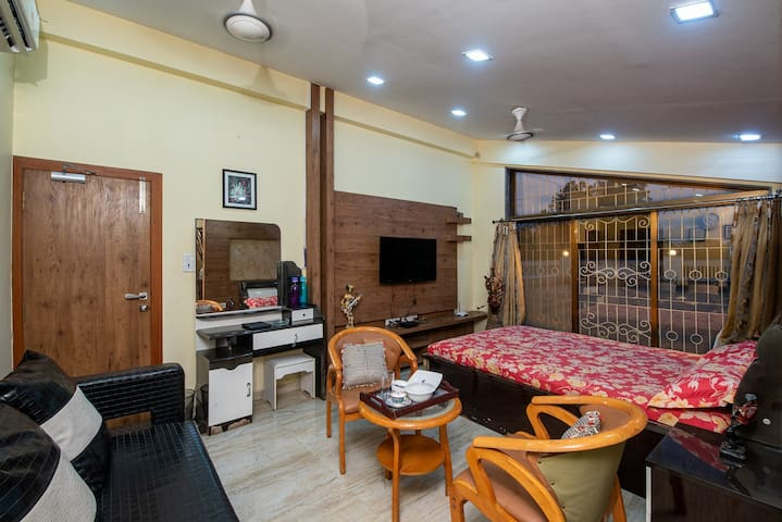 Room with Terrace without meals @ Geeta Bhawan