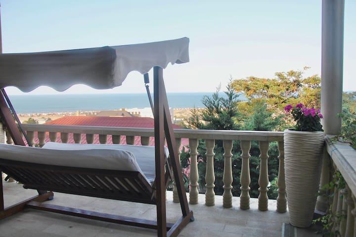 "Exciting seaview villa ""Aymesa"""