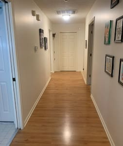 """The hallway is 60"""" wide"""