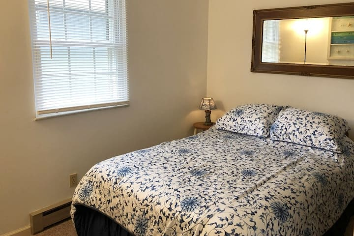 Full size bed in this 2nd Bedroom