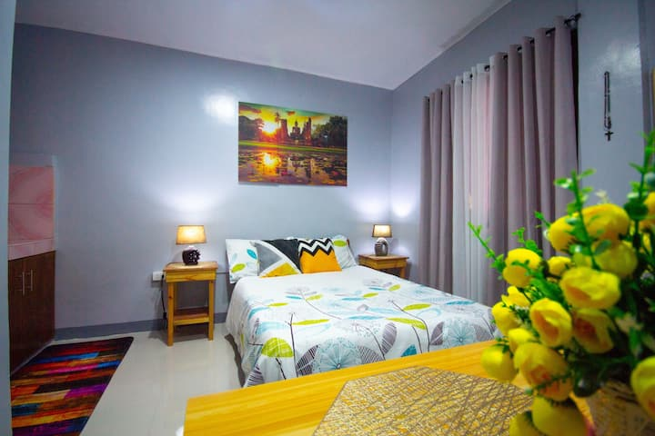 Cozy One-Bedroom Studio, Olongapo City Center.🌺💐