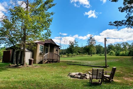 Rustic Cabin on a 350+ acre Camp