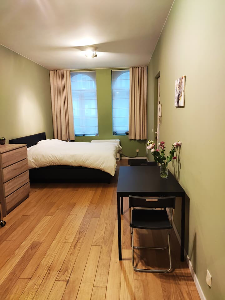 Super cozy studio with amazing Kingsize bed