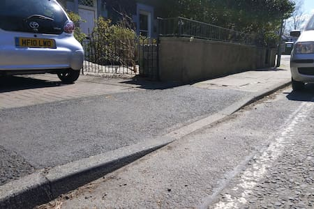 drop curb Infront of property