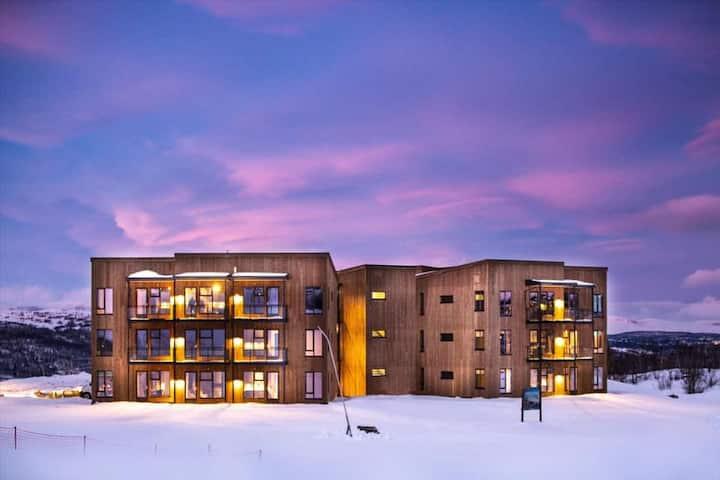 Moderne leilighet (Ski inn / ski out og garasje)