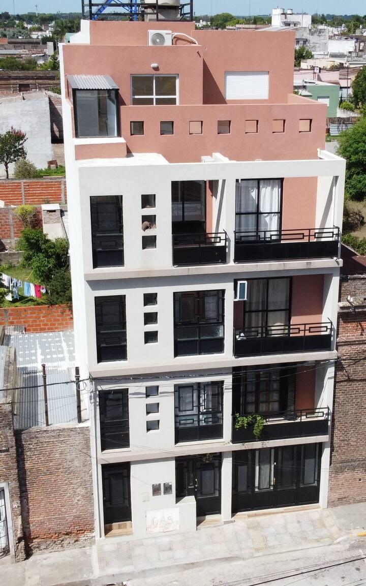 Edificio Victoria vista panorámica departamento 3
