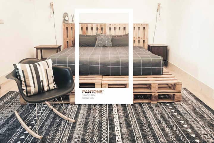 G'day inn. — 3F Gadget Gray|Netflix|加大雙人床|獨立乾濕分離衛浴