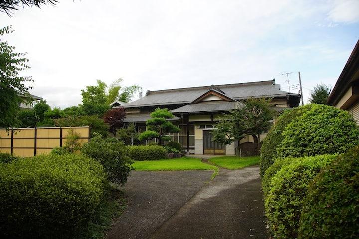 自然豊かな環境/橋本駅送迎できます。BBQできます。