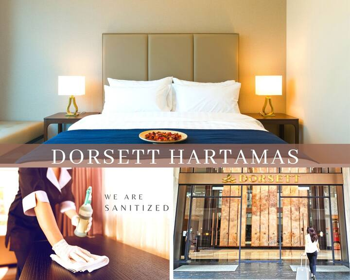 【Dorsett Hartamas】5★ Hotel Residences with Bathtub