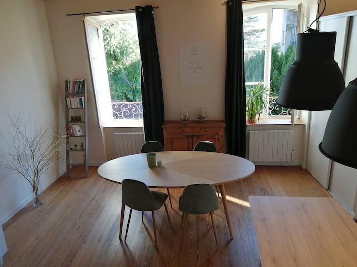 Charmant appartement à proximité de Lyon