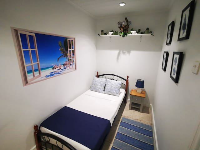 Small bedroom 3 with single bed - ideally suited to a child