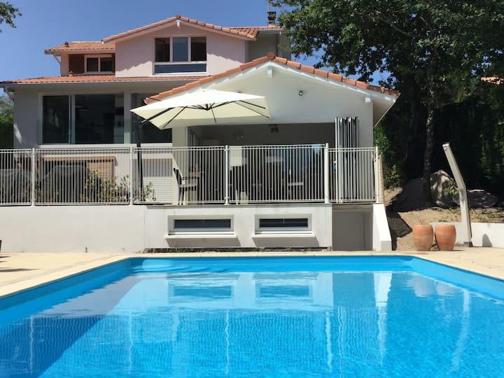 PYLA grande Villa 5 chambres et piscine chauffée