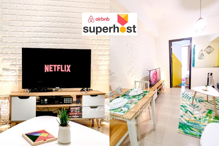 Cozy Staycation 1BR, Netflix,WIFI,Karaoke