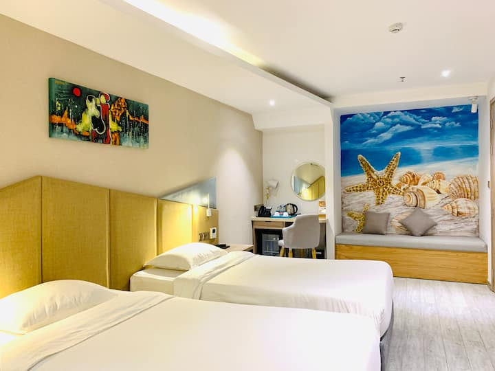 4 Star Hotel-Near Beach-Breakfast-Twin Bed-Sup 4