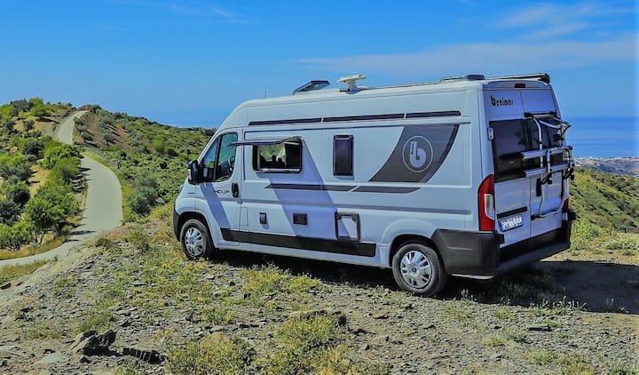 Caravana Camper Van Benimar Málaga