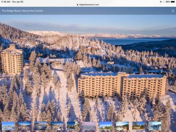 Ski Heavenly Condo Jan 5-12 1 bedroom. sleeps 4