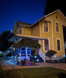 Solar lights to provide nighttime navigation.