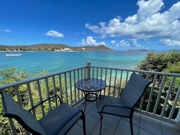 Point Pleasant USVI - Villa Sea Song - Waterfront