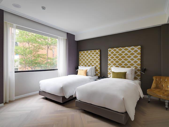 富旅客房 - 兩單床 ::: Voyage Room - Twin Bed (含早餐)