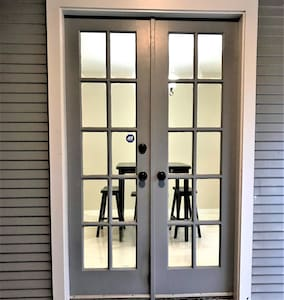 Side door entrance has no steps and wide entrance to accommodate guests with special needs.