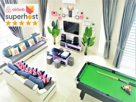 YY Simple Homestay 3 @ Legoland Fantastic (32 PAX)