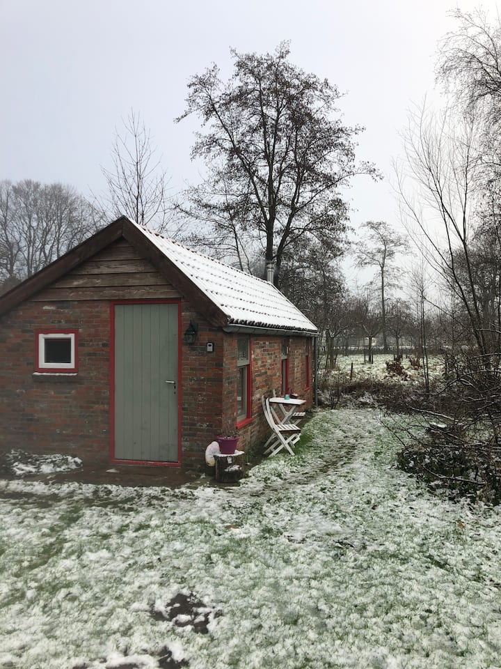 Kom tot rust in onze knusse tiny-house!