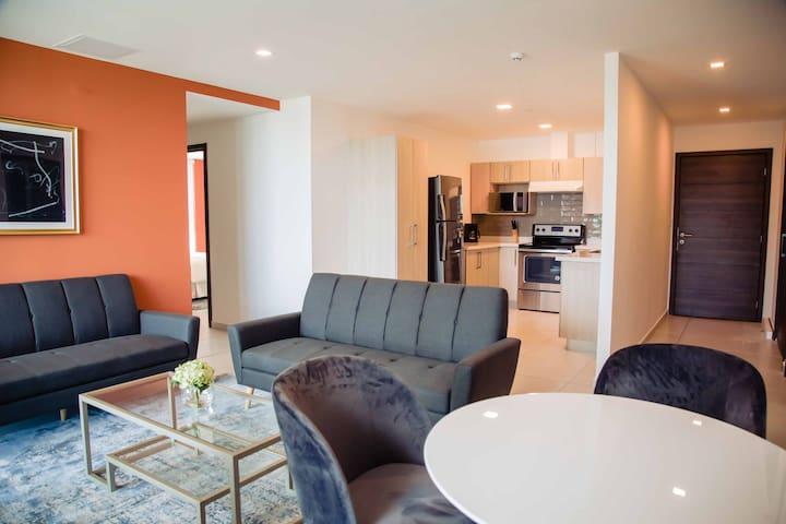 Apartamento Azucena-Cómodo de 3 Habs. en Astria
