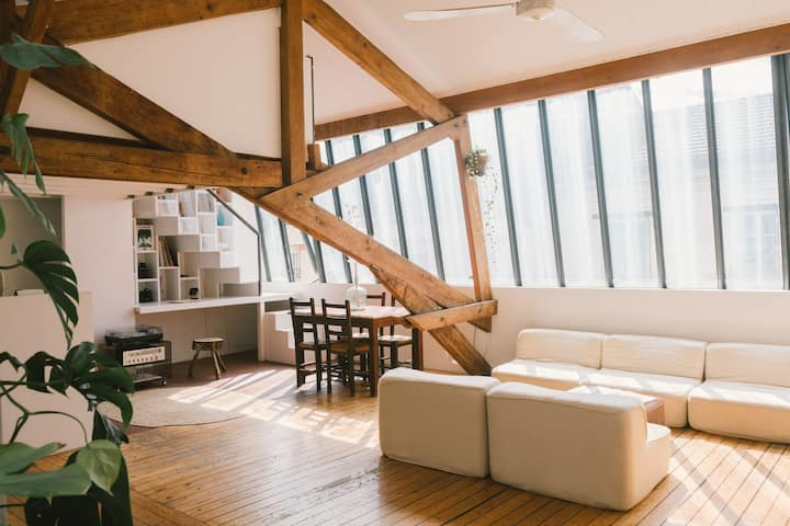 Beautiful Loft at 12mn from Paris Center