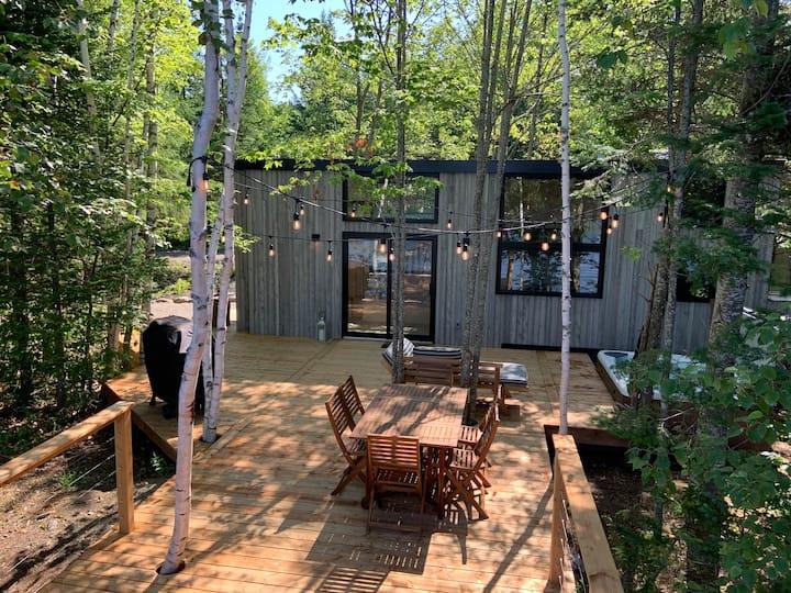 Micro-maison en pleine nature