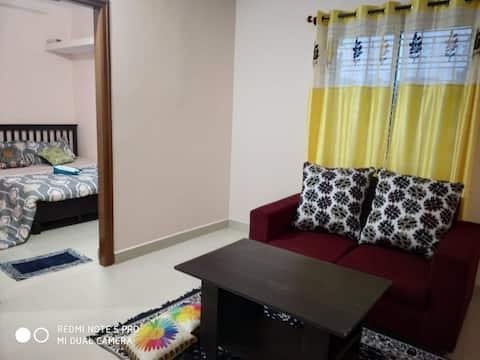 Rashibnk- Entire 1BHK flat in Bellandur