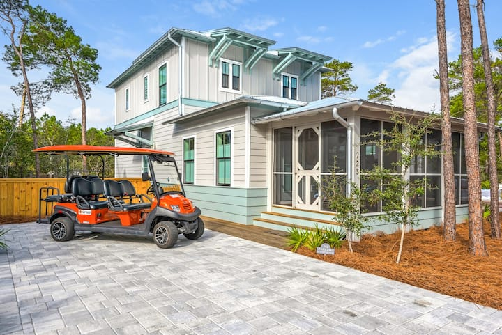 GOIN' COASTAL | PET FRIENDLY | 6-SEATER GOLF CART