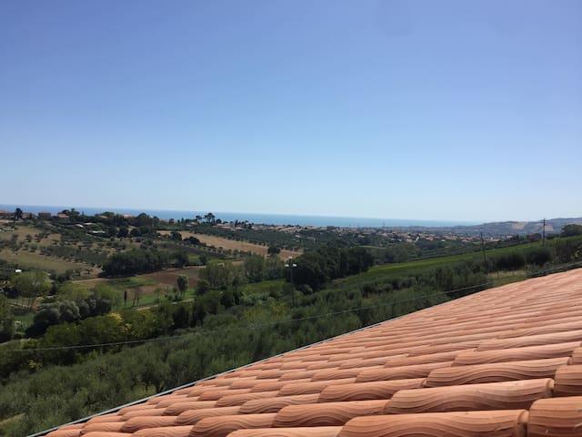 Casa con vista a Giulianova